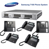 Samsung 7100 BRI and IP Telephone System Pack